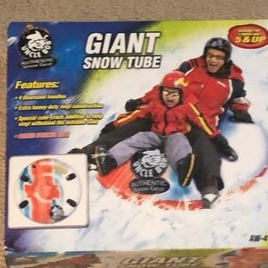Giant Snow Tube
